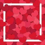 illustration s för hjärta för green för dreamstime för kortdagdesignen stylized valentinvektorn romantisk bakgrund royaltyfri illustrationer