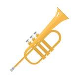 Illustration saine classique de vecteur d'instrument de musique d'icône de saxophone Image libre de droits