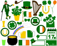Illustration of Saint Patrick's Day Stock Image
