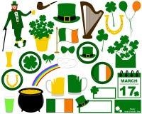 Illustration of Saint Patrick's Day Stock Image
