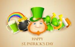 Saint Patrick's Day Background Royalty Free Stock Photos