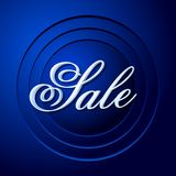 Retro Sale Background Royalty Free Stock Photography