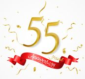 Sale banner with confetti. Illustration of Sale banner with confetti Royalty Free Stock Image