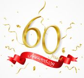 Sale banner with confetti. Illustration of Sale banner with confetti Royalty Free Stock Photo