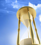 Illustration of a sandglass hourglass Stock Photo