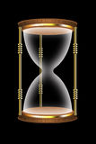 Illustration of sandy clock Royalty Free Stock Images