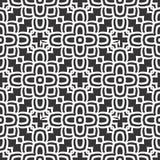 Illustration sans couture blanche noire de fond de modèle de n image stock