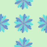 Illustration sans couture d'ornement de fleur Photos libres de droits