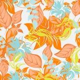 Illustration sans couture de fleur de ressort Photo libre de droits