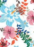 Illustration sans couture de fleur de ressort Images libres de droits