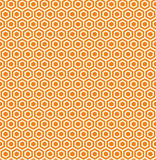 Illustration sans couture de nid d'abeilles Photographie stock