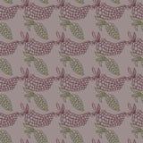 Illustration sans couture de raisin Image stock