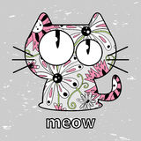 Minou mignon Image stock