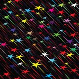 Illustration sans couture de vecteur de temps de pluie Photographie stock