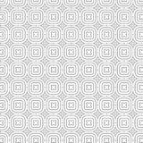 Illustration sans couture de vecteur de fond de modèle d'aspiration d'ornement de grille florale abstraite de fleurs illustration stock