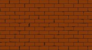 Illustration sans couture de vecteur de texture de mur de briques illustration libre de droits