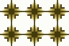 Illustration sans couture sans fin rectangulaire géométrique rayée à carreaux vert-foncé de texture de modèle de trame de haute r illustration libre de droits