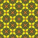 Illustration sans couture - fleurs orientales colorées illustration stock