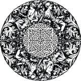 Illustration sans joint de configuration de la Renaissance. illustration libre de droits