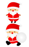 Illustration of Santa Claus. Cute Christmas illustration of Santa Claus Royalty Free Stock Image