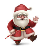 Illustration of Santa Claus Royalty Free Stock Photos