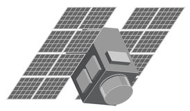 Illustration of satellite Royalty Free Stock Photo