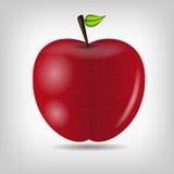 Illustration savoureuse douce de vecteur de pomme Photographie stock libre de droits