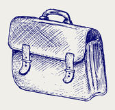 Illustration school bag Royalty Free Stock Images