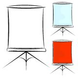 Illustration of a screen. eps10 Stock Photography
