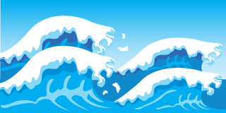 Sea waves Royalty Free Stock Photography