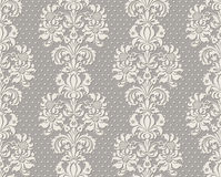 Illustration of seamless background pseudo lace in vintage style Stock Photography