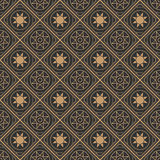 Illustration of seamless background in vintage style. Vector Royalty Free Stock Images