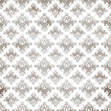 Antique Damask Pattern Royalty Free Stock Image
