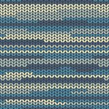 Illustration seamless knitted pattern. Stock Photos