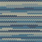 Illustration seamless knitted pattern. Stock Photos