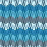 Illustration seamless knitted pattern. Stock Images