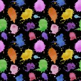 Seamless pattern abstract pattern water drops splatter watercolor water illustration texture digital paper textile wallpaper on wa. Illustration Seamless pattern vector illustration
