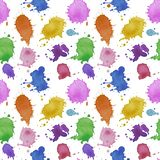 Seamless pattern abstract pattern water drops splatter watercolor water illustration texture digital paper textile wallpaper on wa. Illustration Seamless pattern royalty free illustration