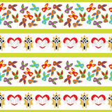 Illustration Seamless Pattern Easter Cross Royalty Free Stock Image