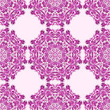 Illustration of seamless pattern with mandala. Illustration of ornament beautiful seamless pattern with mandala. Geometric circle element made in vector Royalty Free Stock Photography