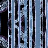 Illustration of seamless pattern strip Stock Image