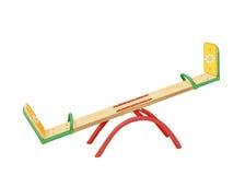Illustration of seesaw. Playground for children. Illustration of seesaw Royalty Free Stock Photography
