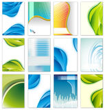 Illustration of set of business template Royalty Free Stock Photography