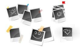 Illustration of set a photo frame Royalty Free Stock Images