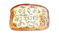 Illustration set of sketching sandwiches with variety of fillings, different composition and  ingredients. Stock Images