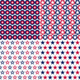 Usa seamless pattern Royalty Free Stock Photography