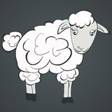 Illustration of sheep Royalty Free Stock Photos
