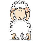 Illustration of sheep Royalty Free Stock Photo