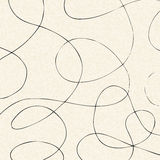 Illustration of a sheet of lined paper Stock Photography