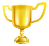 Gold Trophy Illustration Royalty Free Stock Photography